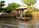 La vie dans le delta, Région de An Binh, Vietnam