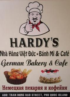 Pause café agréable dans une pâtisserie allemande, Duong Dong, Île Phú Quoc