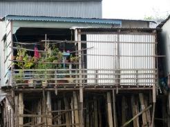 Maison sur le Mékong, Chau Doc, Vietnam