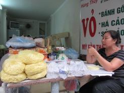 Marchande de pâtes fraîches, vieux quartier, Hanoï