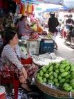 Marché de Chau Doc, Vietnam