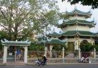 Paisible temple Bouddhiste, Chau Doc, Vietnam