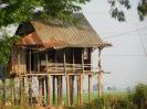 En bordure du Mékong, en quittant le Vietnam