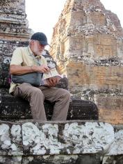 Un peu de lecture pour comprendre les rites funéraires de Pre Rup, Cambodge