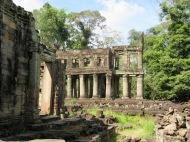 Preah Khan, la cité antique en fin d'après-midi, Angkor, Cambodge