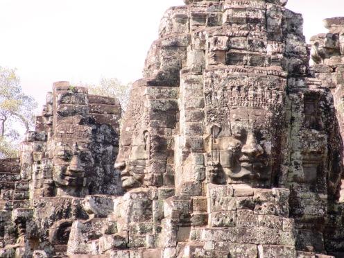 Le Bayon magique, Angkor Wat, Cambodge