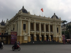 Opéra, Quartier Français, Hanoï