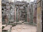 Dans les dédales de Ta Phrom, Angkor, Cambodge