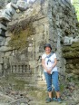 À Preah Khan, Angkor, Cambodge