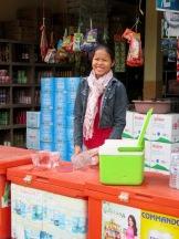 Interlude sur la route de Bantaey Srei pour acheter de la glace, Cambodge