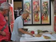Hoang Thanh Phong au travail, Citadelle, Hué