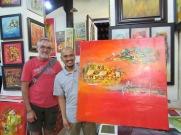 Robert, l'artiste monsieur Hoang Thanh Phong, Citadelle, Hué