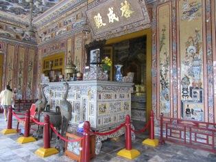 Mausolée de Khai Dinh, Hué