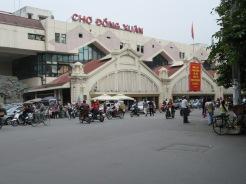 Le marché Dong Xuan, Hanoï, Vietnam