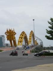 Queue du dragon, pont du dragon, Da Nang