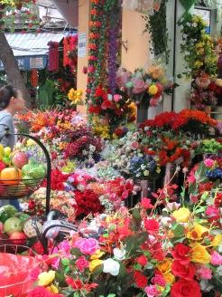 Marché de fleurs, quartier des 36 Corporations, Hanoï