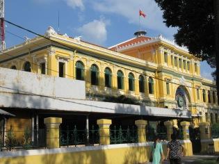 Bureau de la poste à Ho Chi Minh