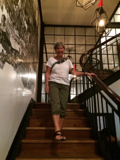 En descendant l'escalier chez Tuk Tuk, Ho Chi Minh