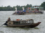 Le ferry entre Vinh Long et An Binh
