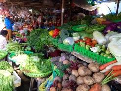 Marché de Vingh Long, Vietnam