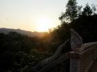 Coucher de soleil dans la montagne, Kep, Cambodge