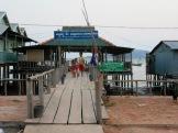 École dans un village de pêcheurs près de Kep, Cambodge