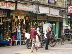 Dans les rues de Kolkata, Inde