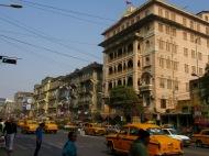 Un quartier de Kolkata, Inde