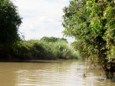 Un canal menant vers Battambang, Cambodge