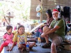 La fête de Noël ne fait pas de sens pour tout le monde, Battambang, Cambodge