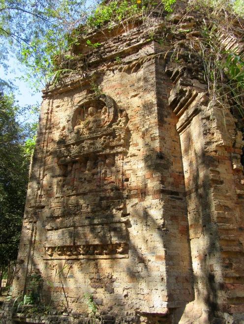 Ces sculptures Kmer datent du 7e siècle et restent impressionnantes, Sambor Pre Kuk, Cambodge