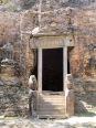 Dans cette civilisation ancienne, le lion était aussi considéré comme le roi des animaux, Sambor Pre Kuk, Cambodge