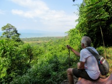 Vue panoramique sur la région à partir du Parc national de Kep, Cambodge