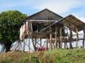 Maison sur pilotis, Tonlé Sap, Cambodge