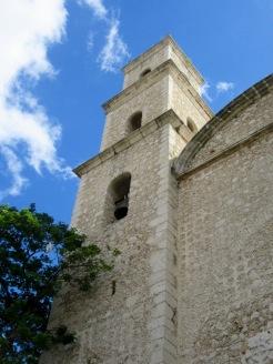 Le clocher de la Iglesia El Jesùs, Mérida, Yucatán, Mexique.