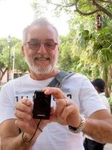 Le photographe photographié. Mérida, Yucatán, Mexique.