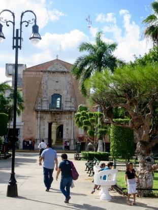 La Iglesia El Jesús, Mérida, Yucatán, Mexique.