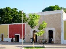 C'est l'heure de la pause à Mani, Yucatán, Mexique.