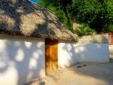 Une maison traditionnelle de la ville de Mani, Yucatán, Mexique.