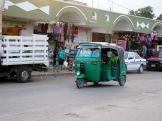 Un moyen de transport très utilisé dans la région, Oxkutzcab, Yucatán, Mexique.