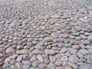 San Miguel de Allende a gardé son cachet patrimonial, ce qui implique que les rues sont pavées de pierres et certaines d'entre elles, plus rondes, rendent la marche un peu périlleuse. Guanajuato, Mexique.