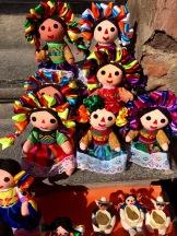 Les poupées de San Miguel de San Miguel de Allende sont uniques, Guanajuato, Mexique.