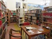 L'une des salles de travail à la Biblioteca Pública de San Miguel de Allende, Guanajuato, Mexique.