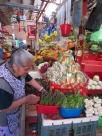 J'ai choisi d'aller toujours au même étal à chacune de mes visites et de faire plus ample connaissance avec cette marchande du mercado Ignacio Ramírez, San Miguel de Allende, Guanajuato, Mexique.