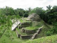 Une des structures de Altun Ha, appelée Temple of the Green Tomb car presque 300 objets de jade y ont été retrouvés. La sépulture d'un roi datant de l'an 550 de notre ère y a été découverte. Belize District, Belize.