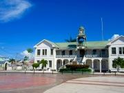 Le palais de justice, Belize City, Belize District, Belize.