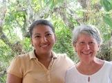 Esmée, notre ange du Blue Belize. Punta Gorda, Toledo District, Belize.