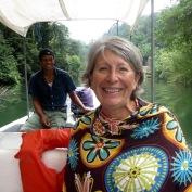 Il faisait un peu frais sur le Rio Dulce, mais cela ne nous a pas empêchés d'apprécier notre randonnée dans la mangrove. Guatemala. (Photo signée Robert)