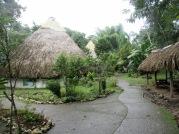 Ak'Tenamit, l'école dans la jungle, près de Livingston, sur le bord du Rio Dulce. Guatemala.
