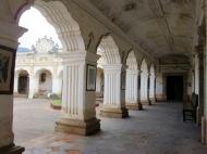 Le Musée de Arte colonial, un bel exemple de l'architecture d'Antigua. J'ai été conquise par le détail de ses arcades, Guatemala.